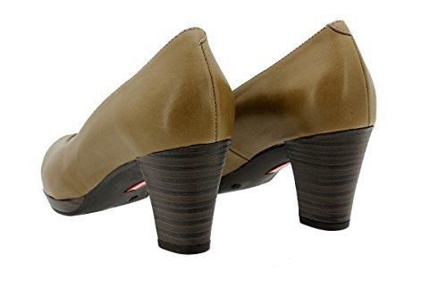 9301 Femme Confortables Escarpin Confort PieSanto Amples Cuir Naturnuez Chaussure en SaxZH