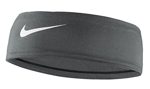 Nike Women's Fury Headband 2.0 Cool Grey/White Size One Size by Nike (Image #1)