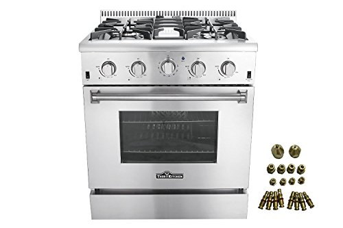4 Burner Dual Fuel Range - 6