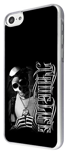 361 - Gangster Gang Sugar Skull Thug Life Design iphone 5C Coque Fashion Trend Case Coque Protection Cover plastique et métal