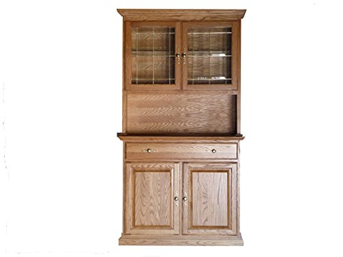 Forest Designs Traditional Buffet: 42W x 36H x 18D (No Hutch) 42w x 36h x 18d Golden (Oak Traditional Curio Cabinets)