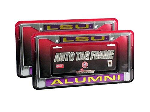 lsu alumni license plate frame - 9