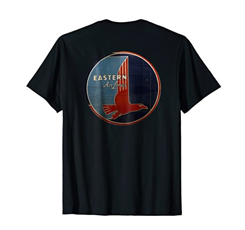 EASTERN AIRLINES RETO LOGO T-SHIRT DESIGN ON ()