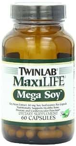 Twinlab Maxilife Mega Soy, 60 Capsules