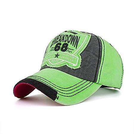 Men Women Summer Outdoor Personalized Edging Washed Denim Baseball Cap Sunshade