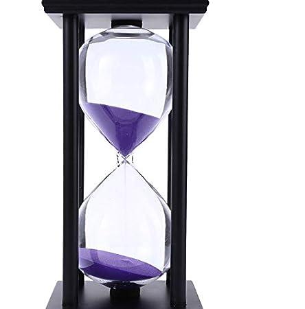 HRR Pequeños Adornos Reloj de Arena 60 Minutos Temporizador ...