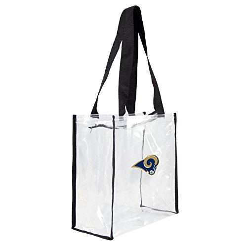 Louis Rams Nfl Keychain (NFL St. Louis Rams Clear Square Stadium Tote)