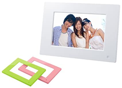 Amazon.com : SONY Digital Photo Frame E710 White DPF-E710/WI ...