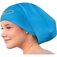 Zwemmuts voor Lang Haar - Zwemmenmuts voor Vrouwen en Mannen - Extra Groot, XL, Waterdicht, Siliconen - Dreadlocks…