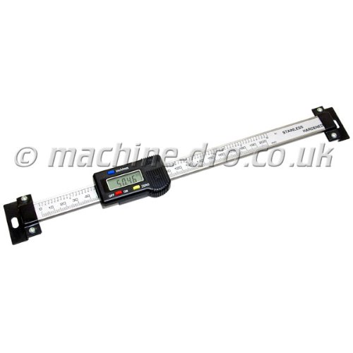 Horizontal Linear Digital Scale - 300mm / 12 Inch with Mounting Brackets