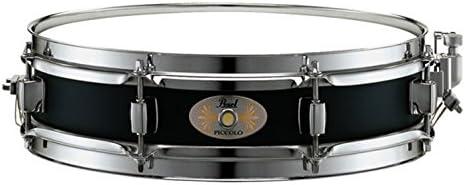 B0002E2688 Pearl S1330B 13 x 3 Inches Black Steel Piccolo Snare Drum 41artJ1xRQL