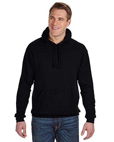 Beer Pouch Hoodie (Men's Tailgate Hoodie Sweatshirt, Black, Large)