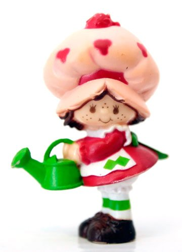 Strawberry Shortcake Mini with Watering Can Kenner (Kenner Strawberry Shortcake)
