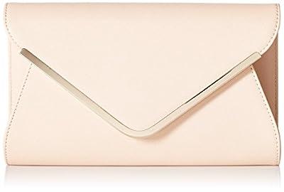 Leather Evening Envelope Clutches Bag with Chain Shoulder Strap for Women Handbag Shouder Bags