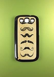 Mustache Samsung Galaxy S3 Case, Vintage Fashion Samsung Galaxy S3 Cover