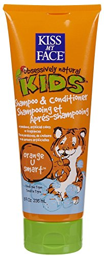 Kiss My Face Kids Shampoo & Conditioner (236ml, Orange U Smart)
