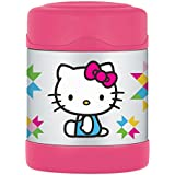 Thermos Funtainer 10 Ounce Food Jar, Hello Kitty - Pink/Blue (Design may Vary)