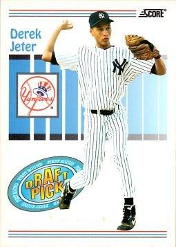 1993 Score Baseball #489 Derek Jeter Rookie Card