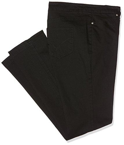 Slim Damart Noir Femme Jean Coupe Pantalon Noir tr7nqtUYx