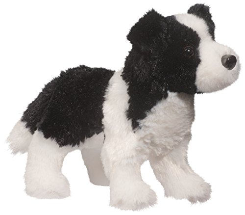 Border Collie Stuffed Animal<br>8 Inches