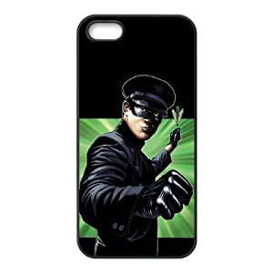 TOSOUL Custom painting The Green Hornet Phone Case For iPhone 5,5S [Pattern-6]