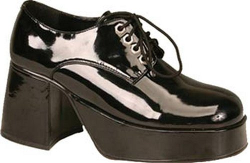 Funtasma Di Pleaser Mens Jazz-02 Platform Oxford Black