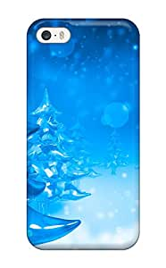 Premium Durable Christmas Trees Fashion Tpu Iphone 5/5s Protective Case Cover