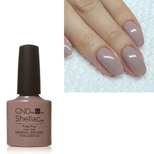New Polish - Hot New Color C N D Shellac UV LED Gel Nail Polish (Field Fox #90782)