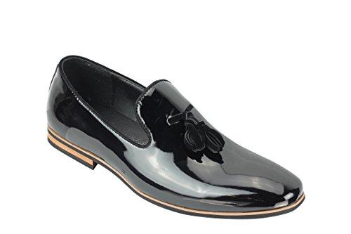 uomo sintetica nbsp; Pelle pelle nappa Su 6 Smart dimensioni Casual Design da guida Scamosciata scarpe Mocassini Slip in Xposed A1qwBz