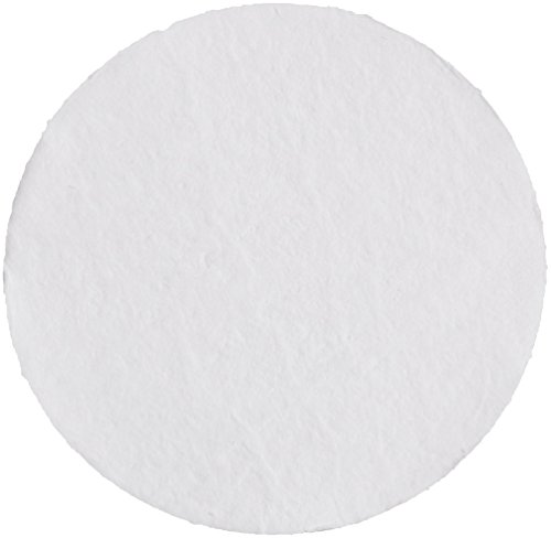 Whatman 1820-047 Glass Microfiber Binder Free Filter, 1.6 Micron, 4.3 s/100mL Flow Rate, Grade GF/A, 4.7cm Diameter (Pack of 100) by Whatman
