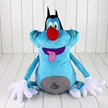 40 cm French Cartoon Oggy and The Cockroaches Soft Toy