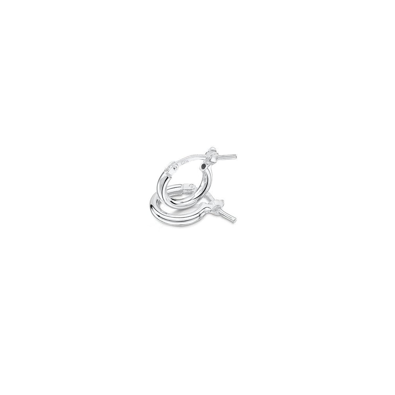 Amberta® 925 Sterling Silber Edle Ringe mit Scharnierbügel ...