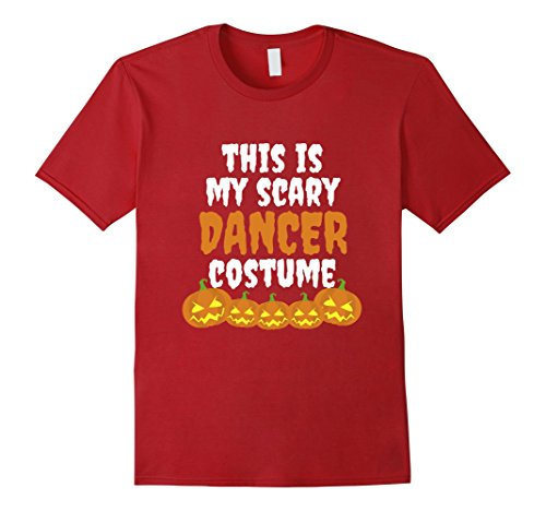 Friend And Best Guy Costumes Girl (Mens My scary Dancer costume funny Halloween tshirt 2XL)