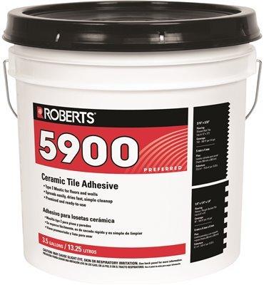 ROBERTS 5900-3.5G Ceramic Tile Adhesive 3.5 Gallon