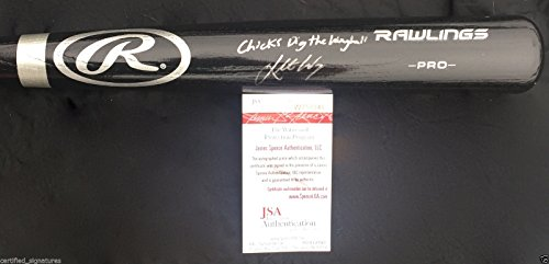 KOLTEN WONG SIGNED BIG STICK BAT CHICKS DIG WONGBALL ST LOUIS CARDINALS JSA J40