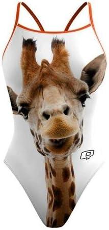 26 Q Swimwear Giraffe Womens Sunback Swimsuit