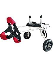 MJY Perro alimentos para mascotas para perros Cama Pet Shop silla de ruedas para discapacitados, mascotas Scooter, de las extremidades posteriores del asiento Asistida Rehabilitación de ejercicio del