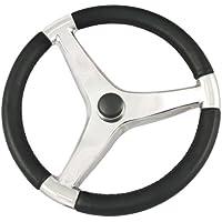 SCHMITT & ONGARO MARINE Schmitt Evo Pro 316 Cast Stainless Steel Steering Wheel - 13.5Diameter / 7241321FG /