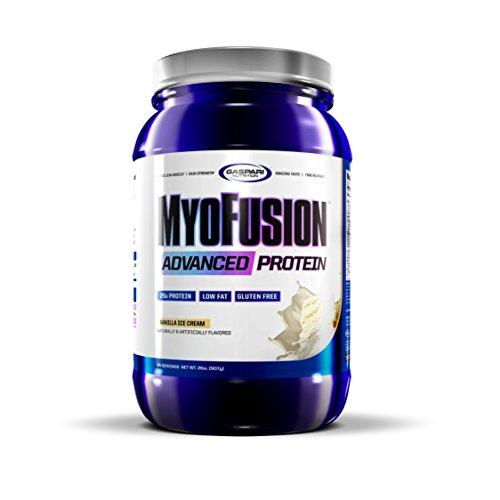 Fusion Ice - Gaspari Nutrition Myofusion Advanced Protein, Vanilla Ice Cream, 2 Pound