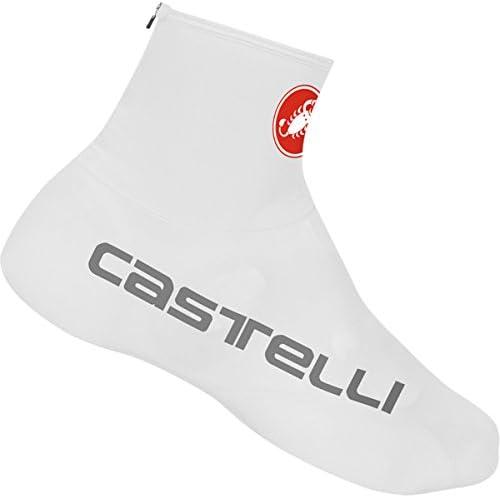Castelli Men/'s Lycra Cycling Bike Shoe Cover Bootie White