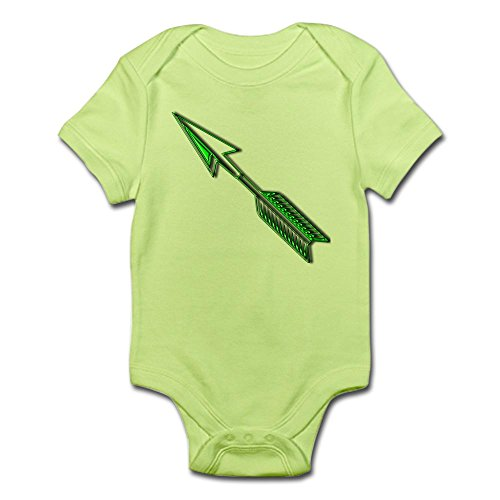 CafePress Green Arrow Infant Creeper Cute Infant Bodysuit Baby Romper