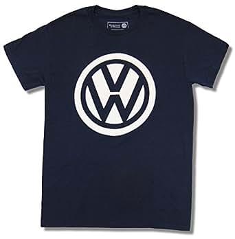 vw volkswagen logo licensed graphic t shirt. Black Bedroom Furniture Sets. Home Design Ideas