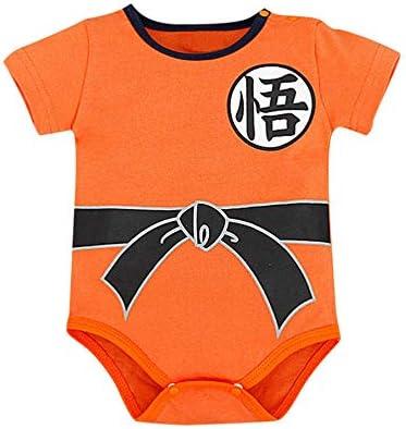 0-24 Mois V/êtement B/éb/é Super H/éro DBZ Nouveau-n/é b/éb/é Fille gar/çon Barboteuse Costume Body -Body Pyjama Enfant -D/éguisement Goku TWIFER