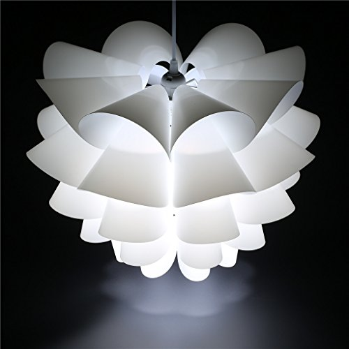 Excelvan L003 DIY Lotus IQ PP Ceiling Pendant Lampshade For Christmas Living Room Bedroom Decor Lighting