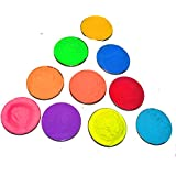 Holi Colors (Non Toxic Holi Colors) 10 Assorted Colors of 50 Grams Each by DD's Royal