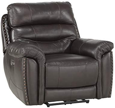Homelegance 41 Power Reclining Chair, Brown