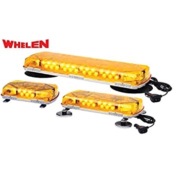 Amazon whelen mc11pa light bar automotive whelen engineering century series super led mini lightbar 11 magnetic mount amber mozeypictures Gallery