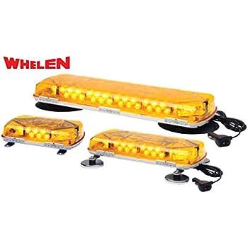 Amazon whelen mc11pa light bar automotive whelen engineering century series super led mini lightbar 11 magnetic mount amber aloadofball Choice Image