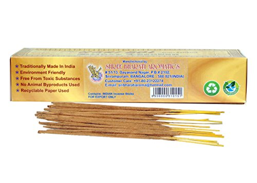 Deluxe Chandan (sandalwood) Incense Sticks Sri Hari Bol Divine Agarbatti (Contain 180 incense Stick in single Packet)