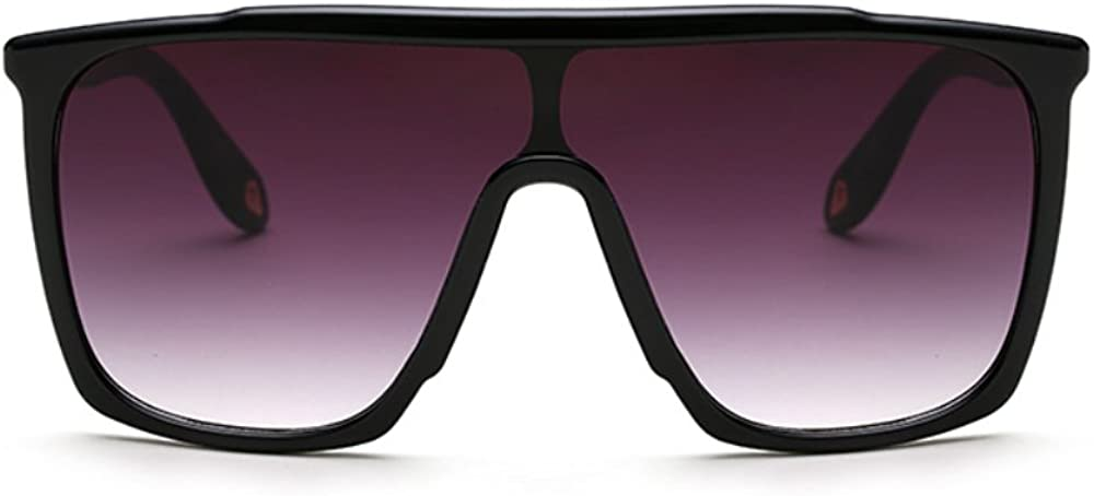 Fasion Design Flat Top Huge Big Oversized Square Women Men Sunglasses S